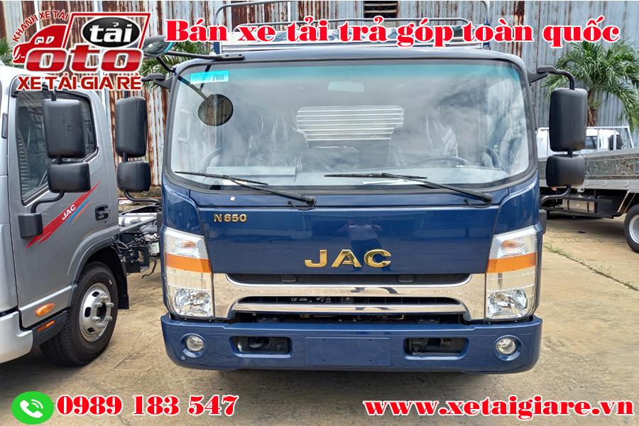 Xe tải jac 6t5,jac n650,giá xe tải jac n650,xe tải jac 6.5 tấn thùng bạt,nơi bán xe tải jac 6t5,xe tải jac n650 6t5 giá bao nhiêu,xe tải jac 6.5t thùng mui bạt màu xanh,xe tải jac 6t5 thùng kín,jac n650 thùng kín,